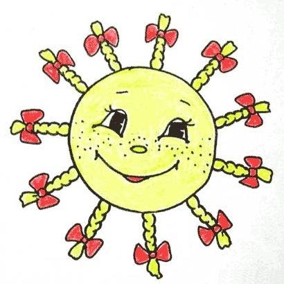 Солнышко картинки