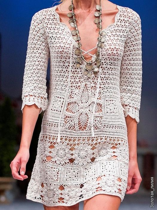 白色连衣裙 - 纤纤起舞 - 纤纤起舞