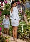 Зимнее вязаное эксклюзивное  платье с открытой спиной
