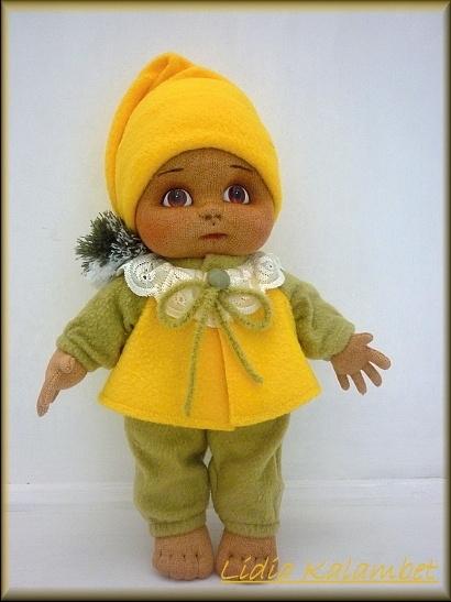 Скульптурно-текстильные куклы своими руками