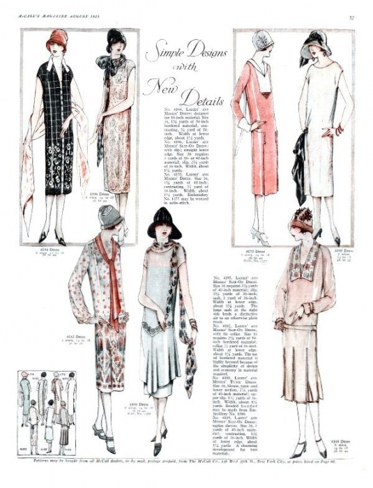 Womens Fashions of the 1920s  Flappers and the Jazz Age