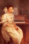Alphonse Maria Mucha - Portrait Of Milada Cerny