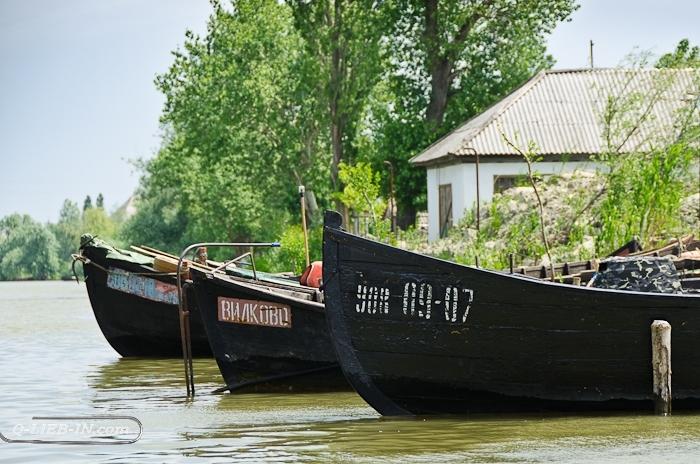 Вилково - лодки