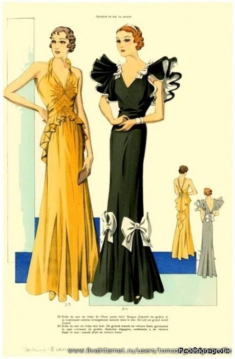 платье 30 годов