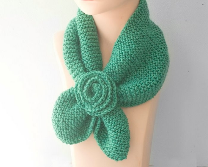 Small scarves crochet and knitting patterns Knitting Scarves For Kids