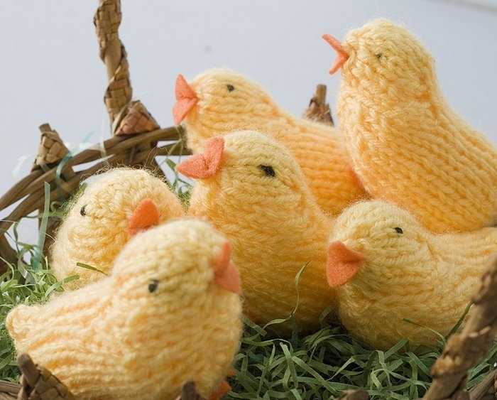 Knitting Easter Chicks : Easter gifts chicks amigurumi