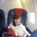В самолете, за 10 минут до взлета