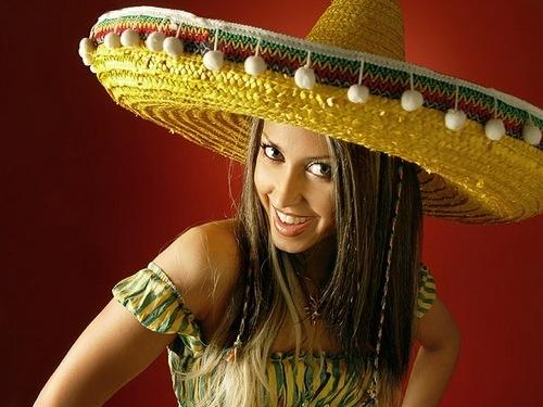 """Рубрика.  Мексиканская одежда.  Сомбреро, название происходит от испанского означает  """"Тень """"."""