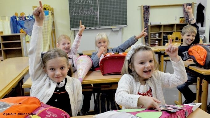 Первый школьный звонок  У каждого в жизни бывает свое самое первое Первое сентября. Впрочем, в Германии понятия