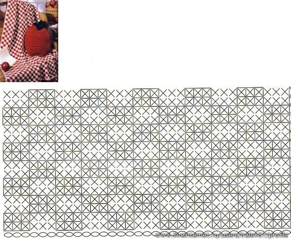Вязание шарфов манишек