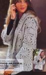 Курточка с капюшоном из мотивов. Обсуждение на LiveInternet - Российский Сервис Онлайн-Дневников
