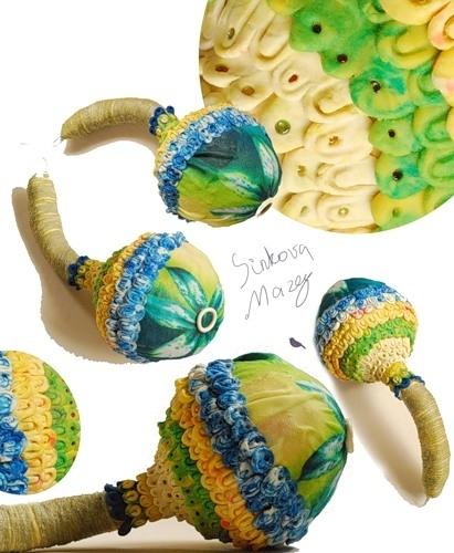 авторские игрушки сувениры из глины.
