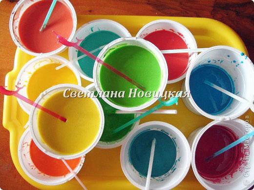 Как сделать краски детям своими руками в домашних условиях