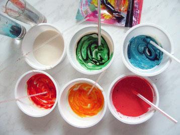 Как сделать масляную краску из пигмента