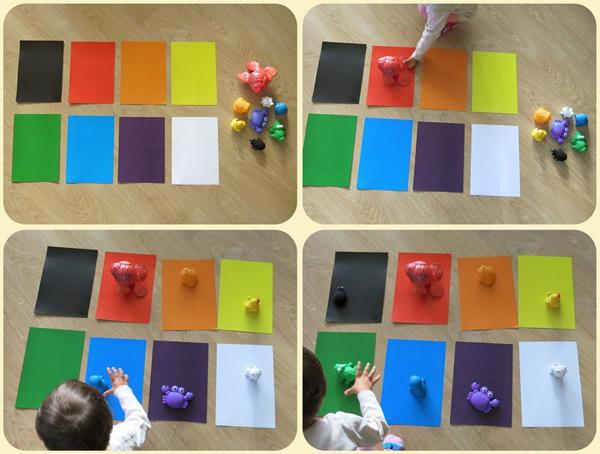 Пособия для изучения цветов