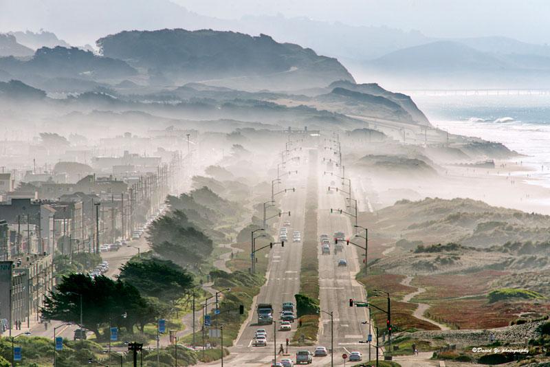 Туман в Сан Франциско