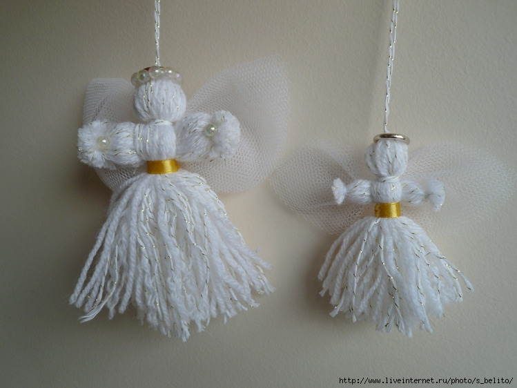 Сувенир своими руками ангел