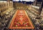 [+] Увеличить - Ковер из цветов в Брюсселе