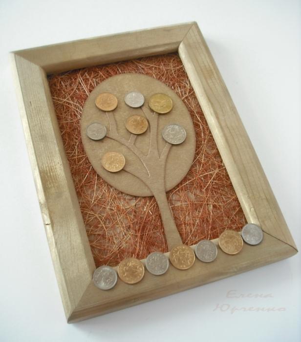 Как из монет сделать денежное дерево