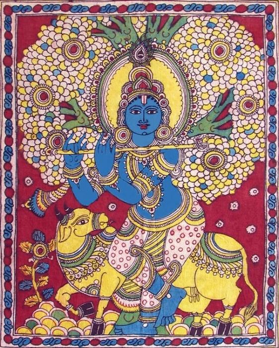 Индийское искусство росписи