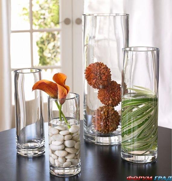 Декор ваз в дом