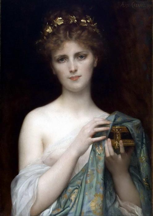 Alexandre Cabanel (1823-1889) -Pandora
