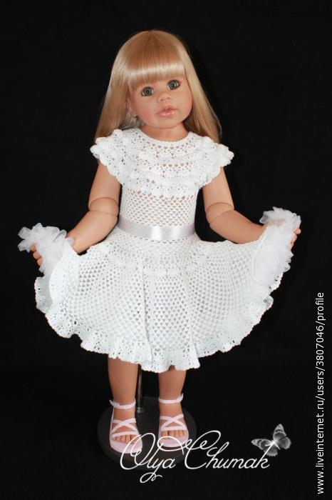 Платье крестильное от Ольги Чумак