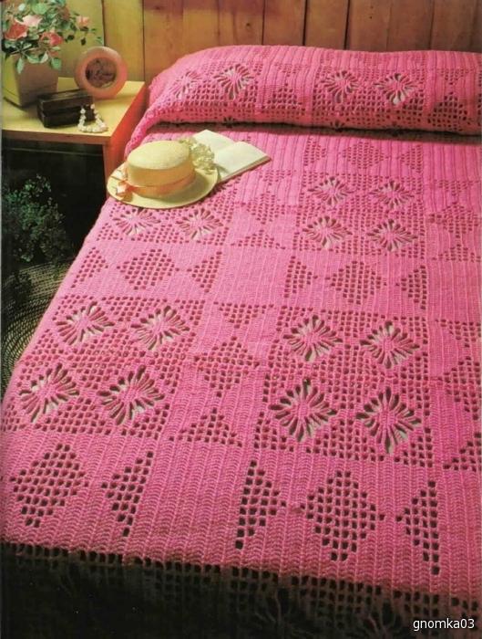 Часть 1. Часть 2. вязание,крючок,плед,покрывало,одеяло.  Подборка пледов связанных крючком (схемы) .
