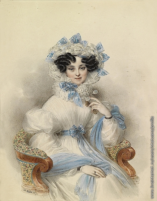 Генриетта Александра Фредерика Вильгельмина принцесса Нассау-Вальбург (1797 – 1829)