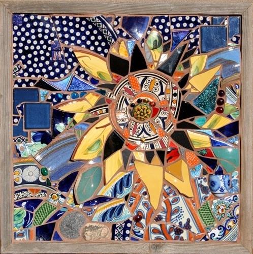 Картина мозаикой своими руками