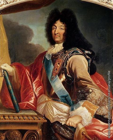 Людовик XIY, король Франции