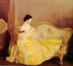 William McGregor Paxton (1869 – 1941) - The Crystal
