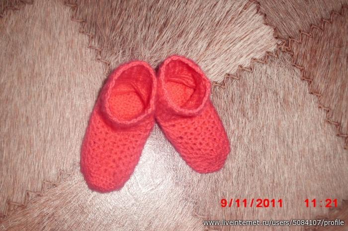 ажурные носочки для моей милой дочки!!!