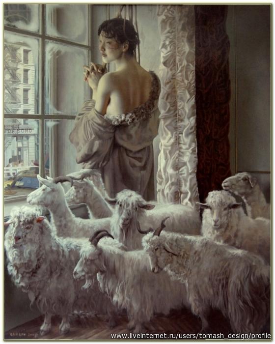 Луи Лю (Lui Liu)- современный китайский художник. Родился в 1957 году