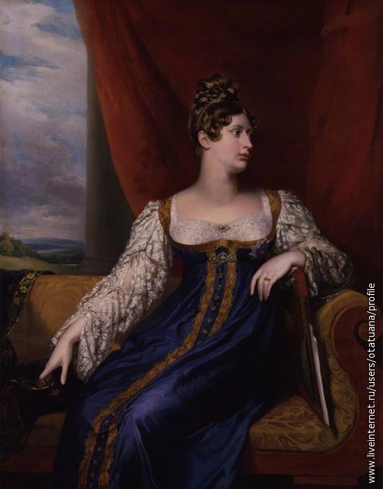 Портрет Шарлотты от Джорджа Доу , 1817