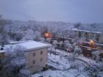 А утром был снег
