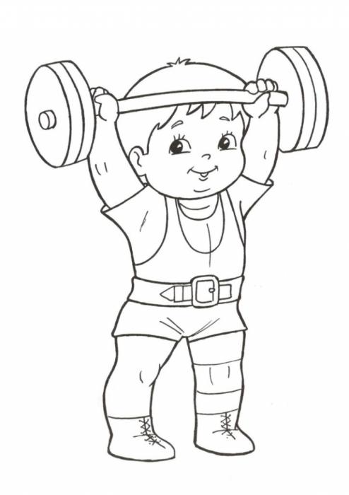 Картинки про физкультуру и спорт