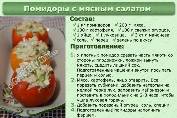 Салаты рецепты с фото быстро
