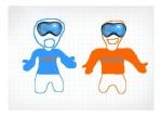 Ошка и Мошка. Будущие представители олимпийских игр! Автор: Владимир Поздеев.