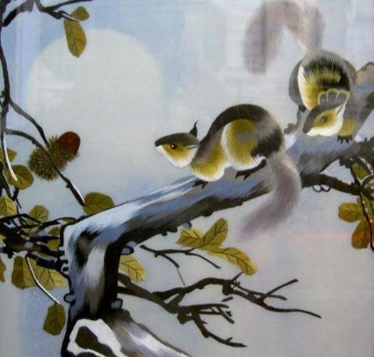绣品欣赏(动物) - maomao - 我随心动
