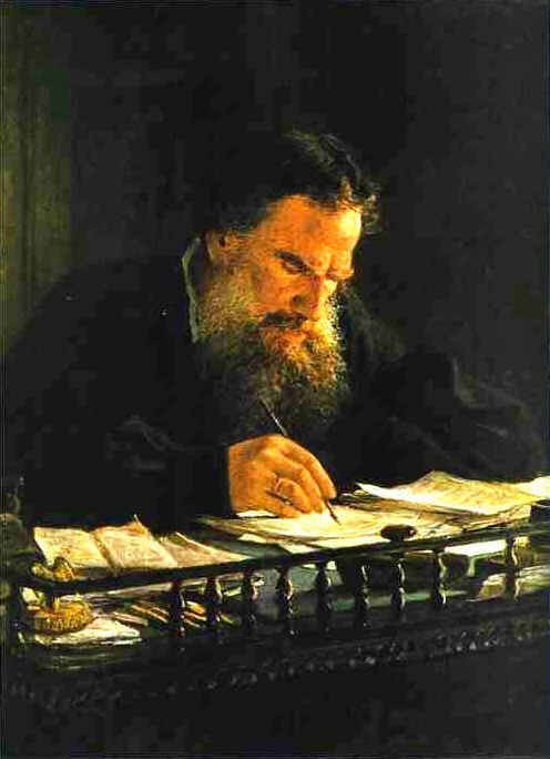 TOLSTOY by Nikolai Nikolayevich Gay 1884   Nikolai Gay [Russian, 1831 — March 1894] friend of Tolstoy and apologist of his philosophy.