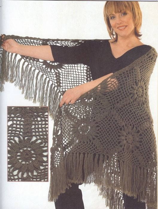 Журнал Ondori (шали, шарфы,
