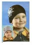 Схема вязания детская шапочка с машинками...