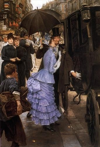 James Jacques-Joseph Tissot  French, 1836 - 1902 The Traveller Date: 1883-5