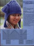 вязаные шапочки для женщин - Выкройки одежды для детей и взрослых.