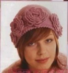 вязание спицами для девочек до года со схемами. вязаные шапки.