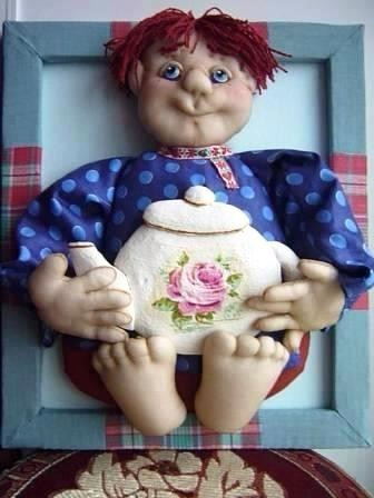 Панно из кукол из капрона мастер класс
