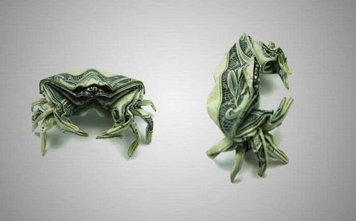 DataLife Engine Версия для печати Оригами из денег.