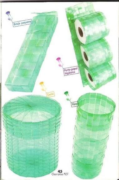 Как из пластиковых бутылок сделать корзину из