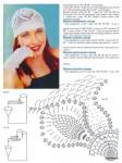 Описание: и Вязаные изделия крючком женские шапки схемы вязания , Рукав фонарик.